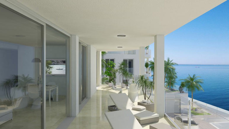 Apartments magnificent sea views for sale Puerto Andratx
